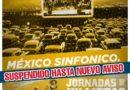 Se suspende el auto concierto México Sinfónico ante medidas emergentes contra el COVID 19
