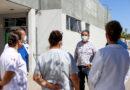 Anuncia Elíseo Compeán que seguirá la desinfección en zona de hospitales y demás áreas