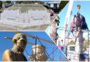 Los trabajos en Plaza Juárez superan avance del 60 por ciento