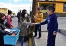 Regidores Independientes de Parral distribuyen cubre bocas infantiles