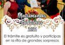 Abren convocatoria de matrimonios colectivos este lunes 25 en Saucillo