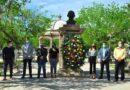 Celebran en Meoqui natalicio de Benito Juárez