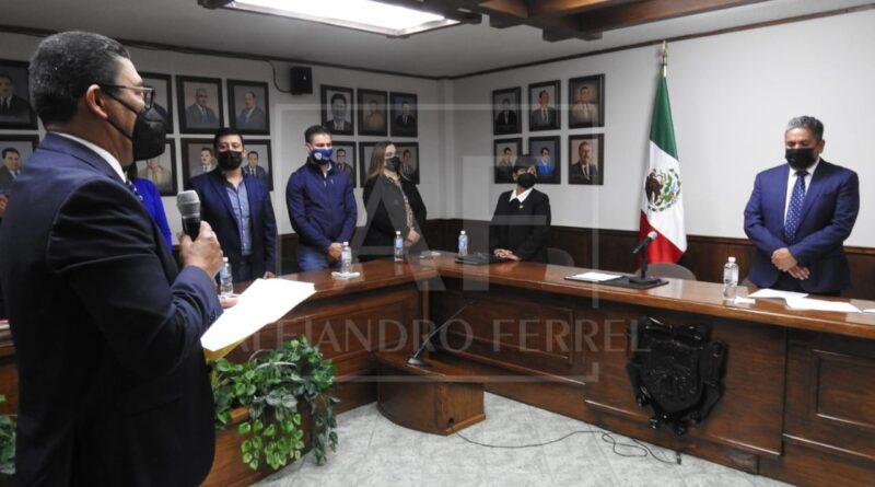 A seguir chambeando: Alfonso Delgado tras tomar protesta como edil de Delicias