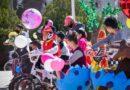 Con gran bicicletada celebran el Día de la Familia en Rosales; participaron alrededor de 140 familias