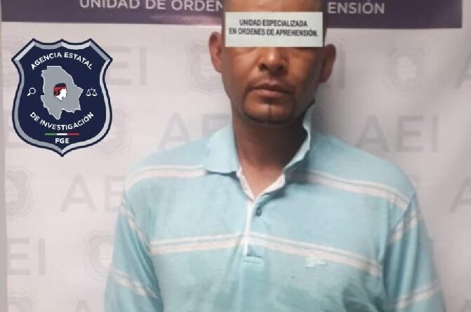 Captura AEI a un prófugo de la justica, acusado por la muerte de dos masculinos en el 2010