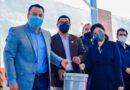 Valenciano entrega impermeabilízate y pintura a 40 escuelas públicas