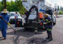 Obras Públicas implementará programa de bacheo con maquina de última tecnología en Delicias