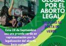 Invitan las yucas a usar prenda verde en representación por la legalización del aborto