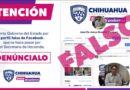 Alerta Gobierno del Estado por perfil falso en Facebook que se hace pasar por Secretario de Hacienda