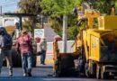 Rehabilitan principales calles de Rósales