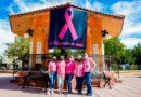 Realizan actividad por el Día Mundial de la Lucha contra el Cáncer de mama en Saucillo