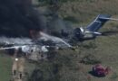 Avión con 21 personas a bordo se estrella en Texas; no se reportan muertos