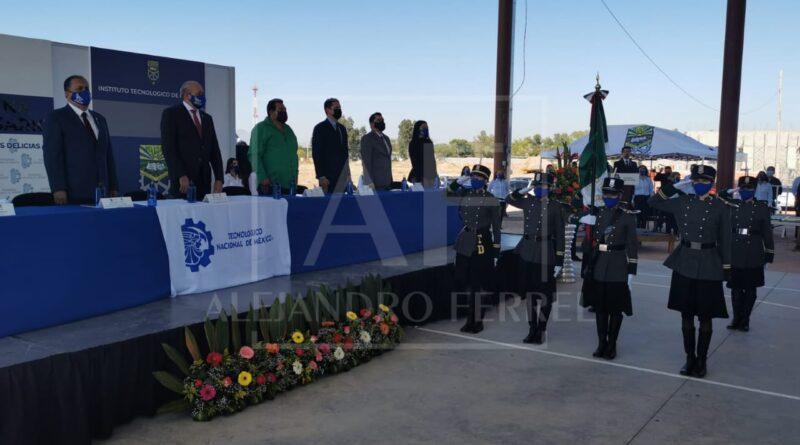 Celebra Tec Delicias 35 aniversario con presencia del director nacional y regionales