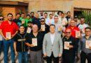 Reúne Alcalde Valenciano a Cronistas Deportivos del Estado