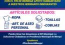 Atiende gobierno municipal de Meoqui a inmigrantes asegurados