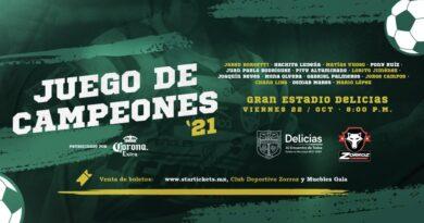 """Jared Borgetti, """"El Pony"""" Ruiz y otros jugadores estarán en Delicias para el Juego de Campeones"""