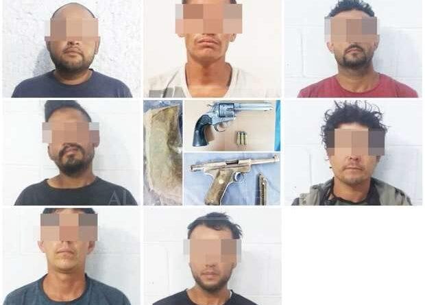 Detienen a 7 por robo con violencia a instalaciones de Ferromex