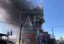 Incendio en Meoqui fue en construcción del centro y ya lo estamos atendiendo: PC y Bomberos